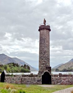 Glenfinnan - the Jacobite monument to the clansmen who followed Prince Charles Edward in the 1745 rising for the Stuart cause.