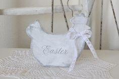 """Shabby Huhn """"Easter"""""""
