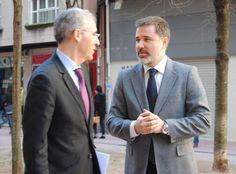 Con el Conselleiro de Economía e Industria, Francisco Conce