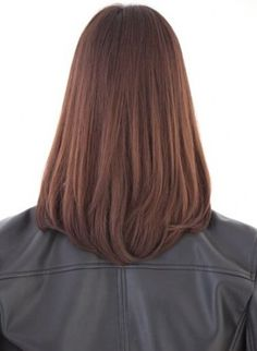 Haircuts Straight Hair, Long Hair Cuts, Mid Length Hair, Shoulder Length Hair, Medium Hair Styles, Short Hair Styles, Corte Y Color, Hair Hacks, Hair Trends