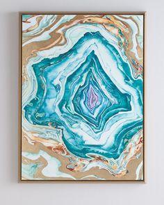 """Leftbank Art """"Shell of Color II"""" Giclee"""