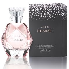 Introducing Avon Femme! An elegant fragrance with sparkling freshness that will leave you feeling like a star all night long. #makesyoushine www.YourAvon.com/Nondas