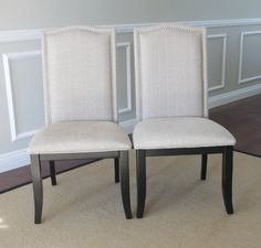 Set of 2 Upholstered Beige Fabric Dining Chairs with Nailhead Trim Tagway Home,http://www.amazon.com/dp/B00DVUE2NC/ref=cm_sw_r_pi_dp_-mhAsb0RJEWVR0WK
