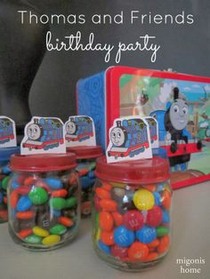 Migonis Home: Thomas and Friends 3rd Birthday Party