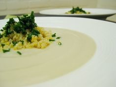 """Creamy Vegan Of Cauliflower Soup - Previous pinner said """"WOW! This vegan cream of cauliflower soup will ROCK YOUR WORLD! It is seriously one of the best soups I have ever tasted!"""" If BED use almonds instead of cashews Healthy Blender Recipes, Vegetarian Recipes, Vitamix Recipes, Vitamix Blender, Blender Soup, Protein Recipes, Detox Recipes, Smoothie Recipes, Easy Cauliflower Soup"""