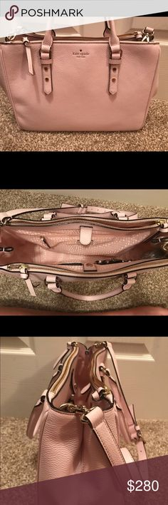 Kate Spade Cameron Street Teegan Large Pale pink Kate Spare and in brand new condition! I bought this bag two months ago and got a new job before I had the chance to start carrying it. My job requires me to carry a different bag. It deserves a good home! kate spade Bags Satchels