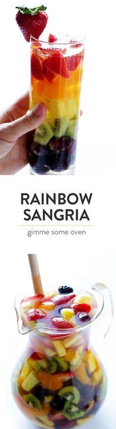Rainbow Sangria: