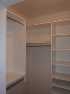 Master walk in closet. For more information visit www.carstensenhomes.com