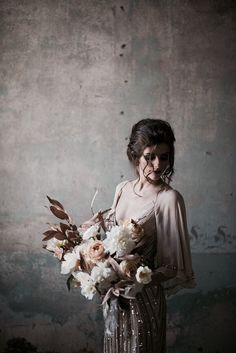 We're loving the moody vibe of this bridal shoot by SWEET ROOT VILLAGE that we featured in Issue 12 of the magazine. Choosing to work with just a handful of key elements – such as the stunning gown from GOSSAMER – they built upon their … Continue re Bridal Shoot, Wedding Shoot, Boho Wedding, Trendy Wedding, Fall Wedding, Wedding Styles, Wedding Black, Wedding Poses, Dress Wedding