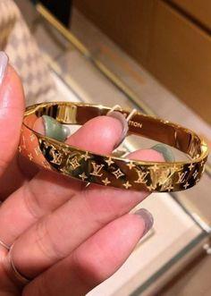 Cute Jewelry, Jewelry Accessories, Fashion Accessories, Fashion Jewelry, Bridal Accessories, Wedding Jewelry, Gold Jewelry, Jewelry Rings, Louis Vuitton Bracelet