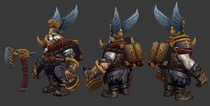 ArtStation - Tusk set for Dota2 warhammer event, Andrey Chuloshnikov