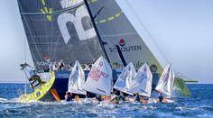 Team Brunel with Dutch Optimist team Volvo Ocean Race 2014/2015