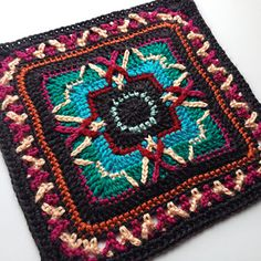 Meet Johnny (and June) - the second installment to the Lovestruck collection, a series of twelve star-crossed afghan blocks sure to melt your heart.