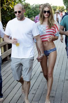 Rosie Huntington-Whiteley. I know EXACTLY where she is! Outside soho beach house in Miami. Boom.