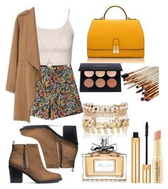 """""""Untitled #22"""" by catarina-costa-iii ❤ liked on Polyvore featuring Topshop, Chicnova Fashion, Accessorize, MANGO, H&M, Florian London, Yves Saint Laurent, Christian Dior, River Island and Napoleon Perdis"""