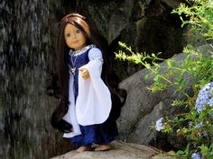 Am I cute or what?: Lord of The Rings Arwen Custom American Girl Doll Custom American Girl Dolls, Custom Dolls, Our Generation Dolls, Am I Cute, Arwen, Doll Outfits, Madame Alexander, Lord Of The Rings, Lotr