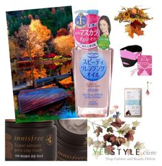 """""""YesStyle"""" by malo-lama ❤ liked on Polyvore featuring Innisfree, Kose, Nina B, Beauty, korean and yesstyle"""