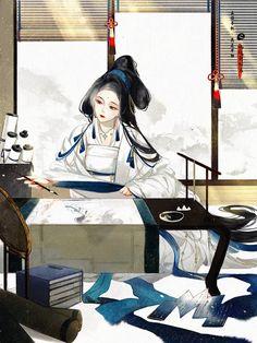 Character Inspiration, Character Art, Character Design, Antique Illustration, Illustration Art, Chinese Drawings, Beautiful Fantasy Art, China Art, Human Art