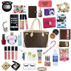 The content of a woman's bag will vary. However, I am going to give you an inside look at a woman's thought process behind choosing a bag, and what she puts in it.