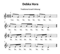 Debka Hora- Isreali folk song for teaching ti, ti-tika, minor, canon, AB form. Fun with xylophones and movement.