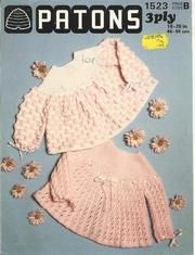 Patons 5148 Flower and Butterfly Cardigan Baby Cardigan Knitting Pattern Free, Baby Knitting Patterns, Free Knitting, Sweater Patterns, Crochet Patterns, Baby Girl Patterns, Baby Girl Crochet, Knitting Books, Knitting Magazine