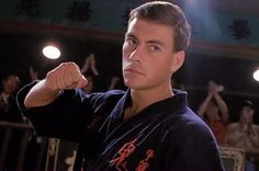 This is my favorite Martial Arts movie of all time. Jean Claude Van Damme became a hero for me through this great movie about a man who fights his way through an illegal full contact tournament in China called the Kumite. Great fight scenes and funny scenes keep this movie awesome:  Bloodsport