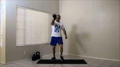 Step Kettlebell Swing.  Visit http://strength.stack52.com/periodic-table-of-kettlebell-exercises/ for 100 + free kettlebell exercises!