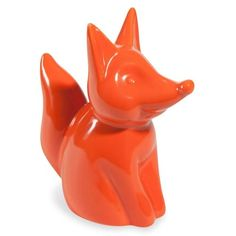 VINTAGE FOX ceramic fox ornament H 15 cm