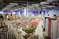 Credit: Zoë Noble Little Big Berlin: The square-metre showroom of Loxx Miniature Welten Berlin houses a scale model railway versi. Tina Turner Concert, Thing 1, Traffic Light, Train Layouts, Small World, Model Trains, The Guardian, Places To Go, Miniatures
