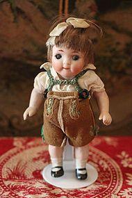 Adorable All Bisque Googly - Precious Toys #dollshopsunited