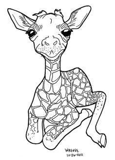 132acd67e1fa842d3fd86b giraffe craft for adults kids coloring