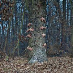 Surrealistische Fotografie van Czlowiek Kamera