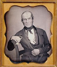 Man with a Key, USA, ca. 1844. Source: Getty Museum