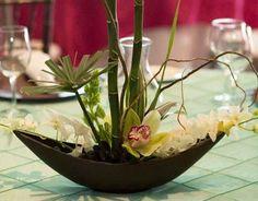 Arreglo Floral, Centro De Mesa, Regalo Con Orquídea Natural