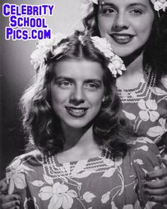 Rosemary Clooney - Celebrity School Pic
