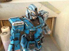 Gundam RX-78 weathered effect