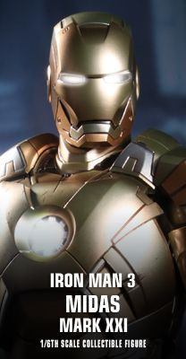 Iron Man 3 - Midas (Mark XXI) Collectible Figure 1/6th scale Collectible Figure