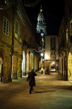 calle en Santiago de Compostela