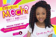 "Harlem125 Synthetic Hair Crochet Braids Mochi Twist 10"" - SamsBeauty"