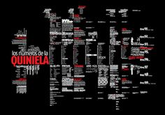 QUINIELA (esquemática) by Ricardo Kim, via Behance
