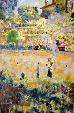 Pierre Bonnard - Grape Harvest at Philips Collection Art Gallery Washington DC Pierre Bonnard, Paul Gauguin, Art For Art Sake, Henri Matisse, French Art, Painting & Drawing, Painting Lessons, Love Art, Oeuvre D'art