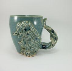 awesome dragon mug by Gary Rith