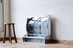 Glass Case A11733極上美品 古いブリキのガラスケース3アンティーク インテリア 雑貨 家具 Antique ¥21500yen 〆06月16日