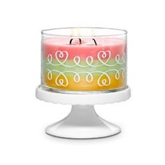 Just Desserts™ by PartyLite Set  Why choose just one? Light up your after dinner life with these seriously scrumptious scents! Six tealights in each fragrance: Pineapple Upside Down Cake, Lemon Lime Macaroon and Marshmallow Peppermint. www.partylite.com