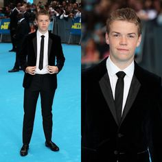 "Male Fashion Trends: Will Poulter en Burberry Prorsum – ""We're the Millers"" London Premiere"