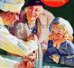 *Coca-cola ad...1937 grandma classic ad