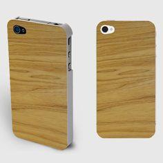 Soft Wood Stripes Iphone4/4S Wood Grain Case