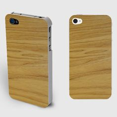 Soft Wood Stripes Iphone4/4S Wood Grain Case