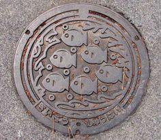 Japan Manhole Covers III | JapanVisitor