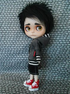 Blythe custom boy 2014 June